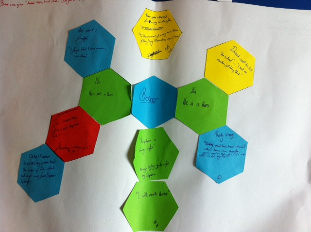 Experiments With Hexagons (2/3)